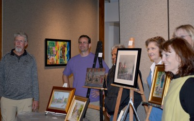 2nd Place – Kinston Plein Air Paint-Out