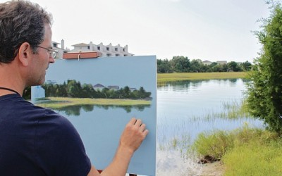 Inaugural en plein air event a success