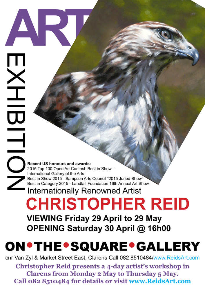 Christopher Reid solo exhbition