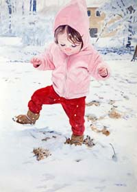 Stomping In The Snow