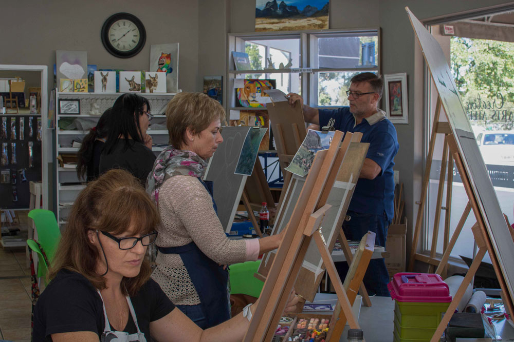 Pastel Workshop- Creative Arts Atelier