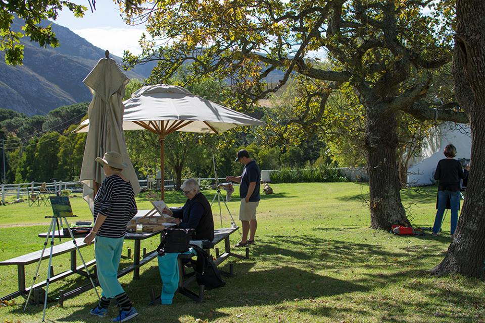 Landscape Painting Retreat- Stanford Valley Guest Farm