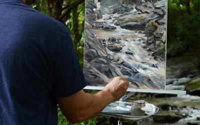 2nd Place – Boone Plein Air Paint Out