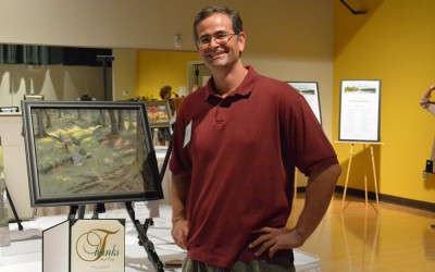 2nd Place – Cary Plein Air Competition