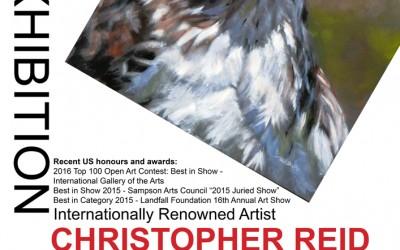 Christopher Reid Solo Exhibition