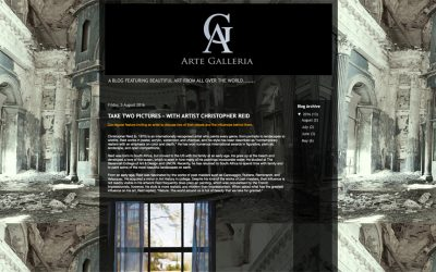 """Arte Galleria – """"Take Two Pictures – With Artist Christopher Reid"""""""