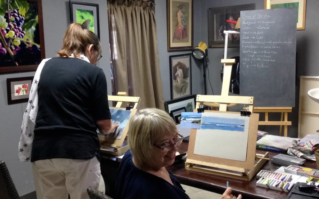 Pastel Workshop- ReidsArt Studio