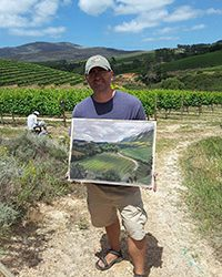 Creation Winery Plein Air Outing