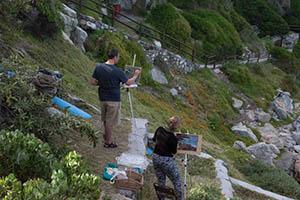 Bientang's Cave Plein Air