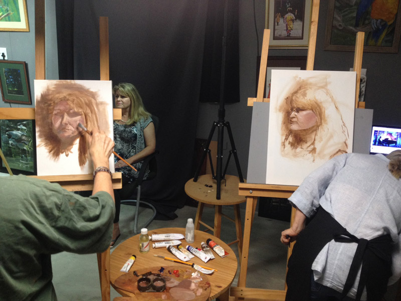 Portrait Workshop- ReidsArt Studio
