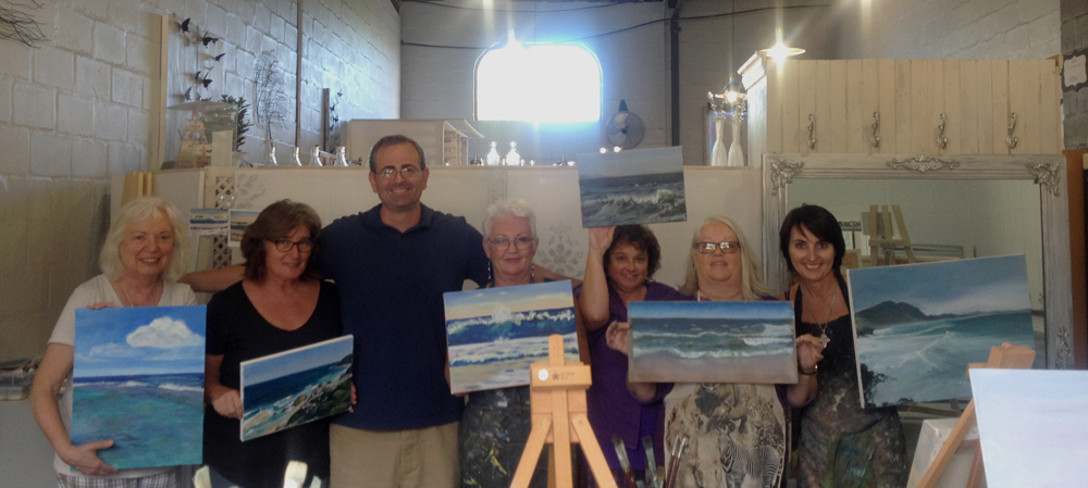 Landscapes & Seascapes Workshop – The Art Boutique