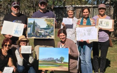 Vergenoegd Wine Estate Plein Air Outing With Urban Sketchers